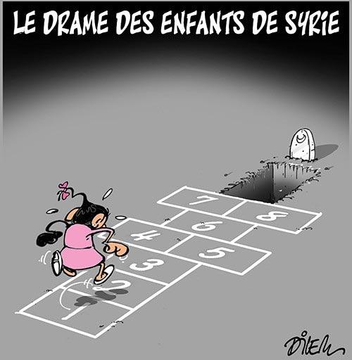 Le drame des enfants de Syrie