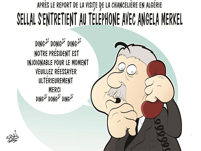 Après le report de la visite de la chancelière en Algérie: Sellal s'entretient au téléphone avec Angela Merkel