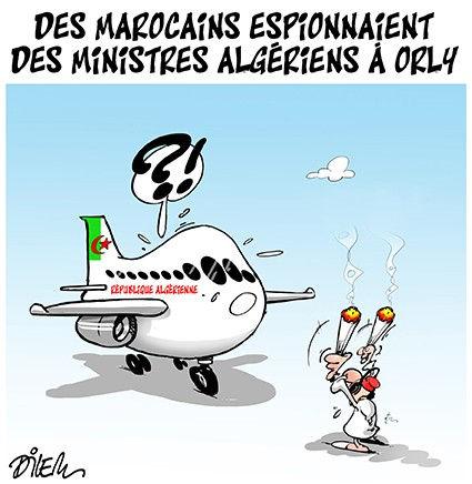 Des Marocains espionnaient des ministres algériens à Orly
