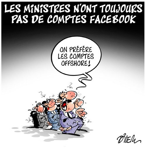 Les ministres n'ont toujours pas de comptes facebook