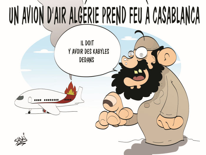 Un avion d'Air Algérie prend feu à Casablanca