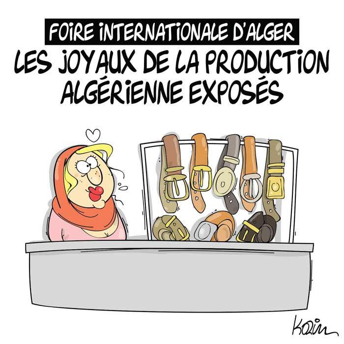 Foire internationale d'Alger: Les joyaux de la production algérienne exposés