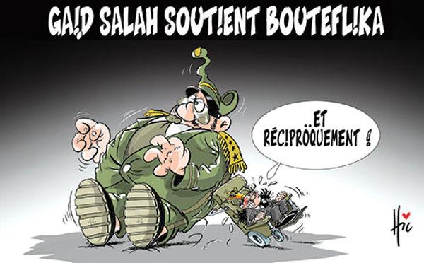 Gaïd Salah soutient Bouteflika