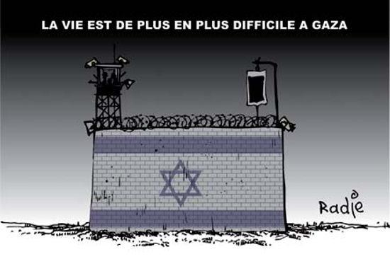 La vie est de plus en plus difficile à Gaza
