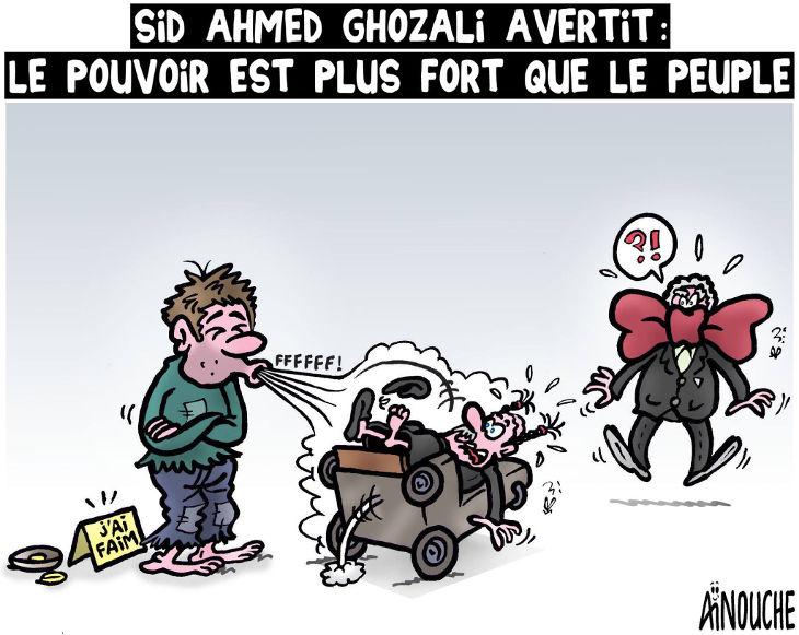 Sid Ahmed Ghozali avertit: Le pouvoir est plus fort que le peuple