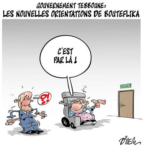 Gouvernement Tebboune: Les nouvelles orientations de Bouteflika