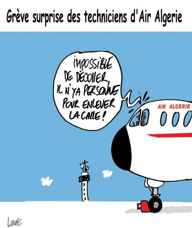 Grève surprise des techniciens d'Air Algérie