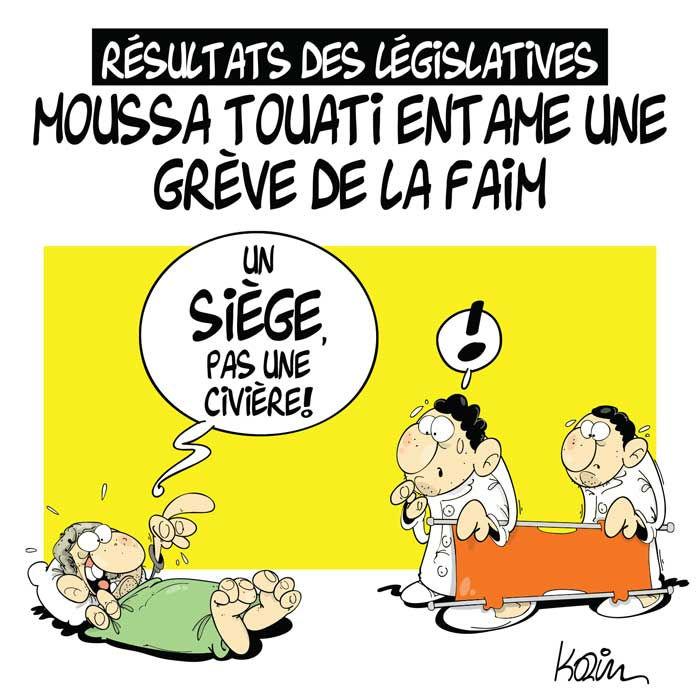 Résultat des législatives: Moussa Touati entame une grève de la faim