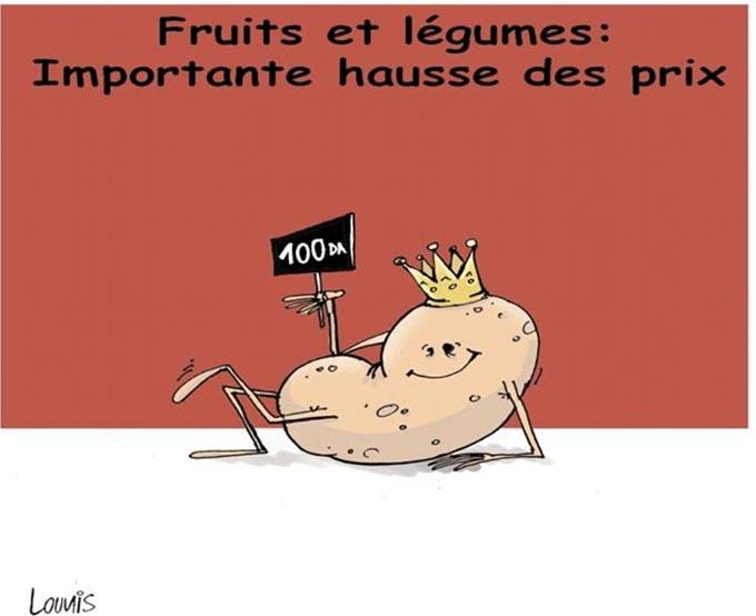 Fruits et légumes: Importante hausse des prix