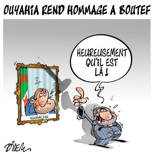 Ouyahia rend hommage à Boutef