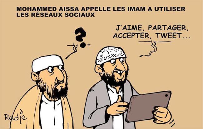 Mohamed Aissa appelle les imams à utiliser les réseaux sociaux