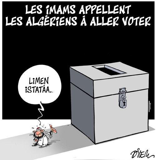 Les imams appellent les algériens à aller voter