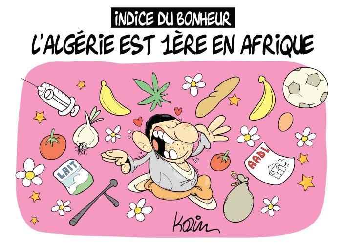 Indice du bonheur: L'Algérie est 1ère en Afrique