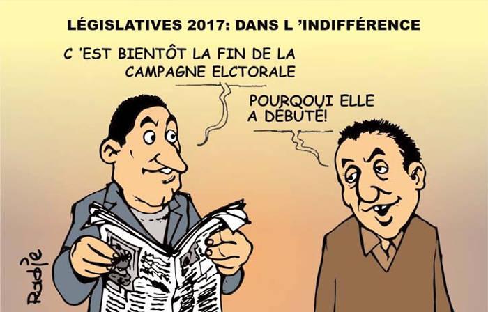 Législatives 2017: Dans l'indifférence