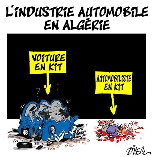 L'industrie automobile en Algérie