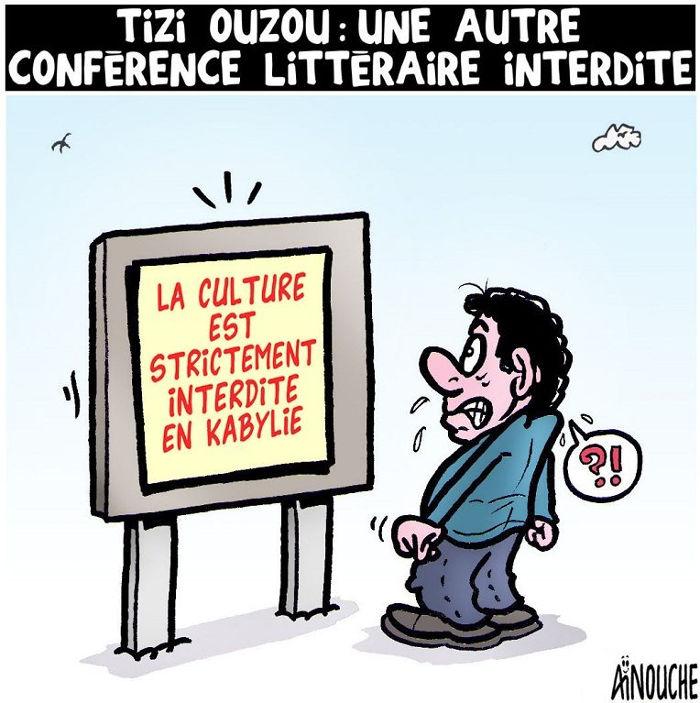 Tizi Ouzou: Une autre conférence littéraire interdite