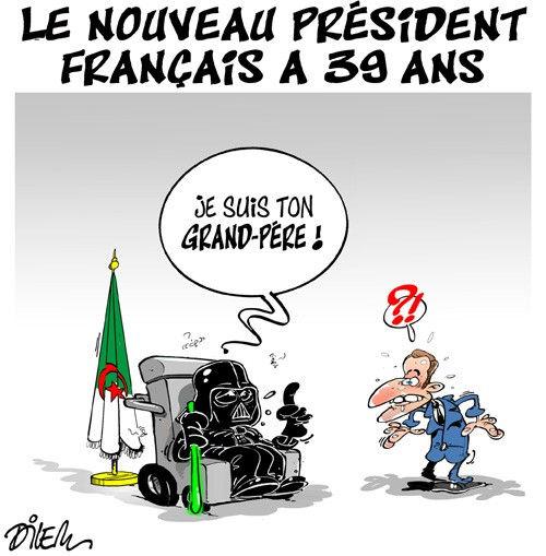 Le nopuveau président français à 39 ans