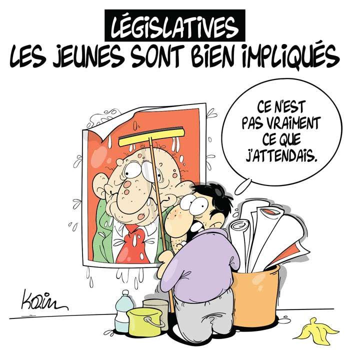 Législatives: Les jeunes sont bien impliqués