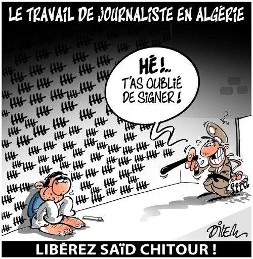 Le travail de journaliste en Algérie