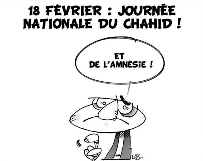 18 février: Journée nationale du chahid