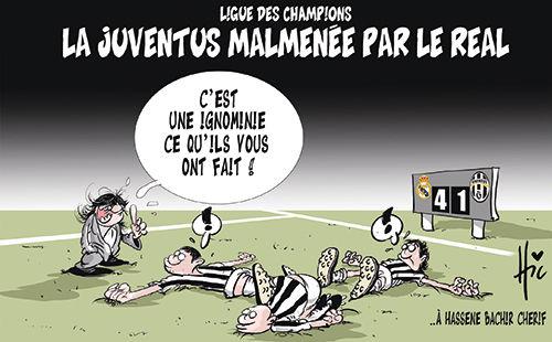 Ligue des champions: La Juventus malmenée par le Real