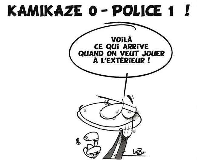 Kamikaze 0 - Police 1