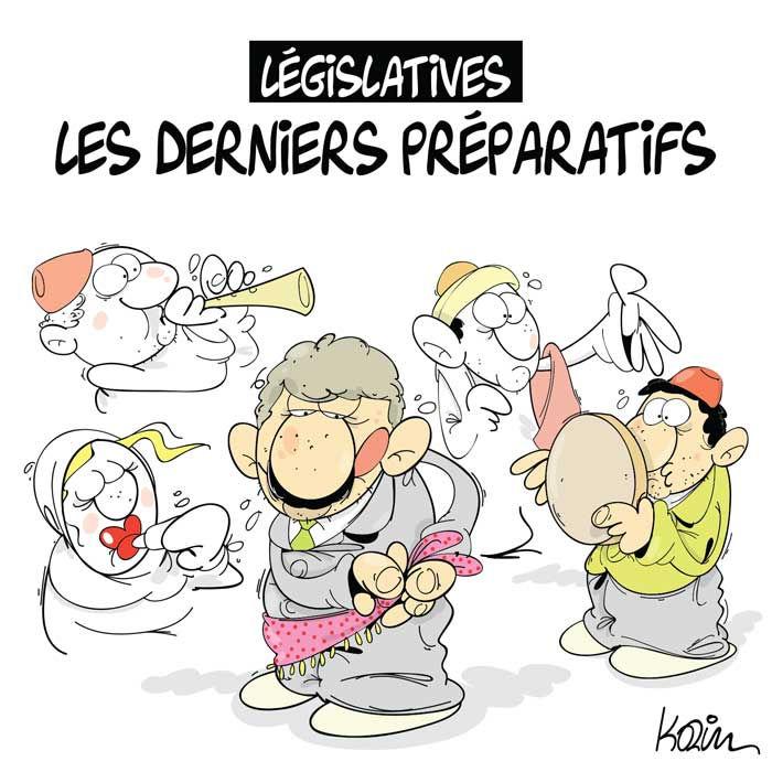 Législatives: Les derniers préparatifs