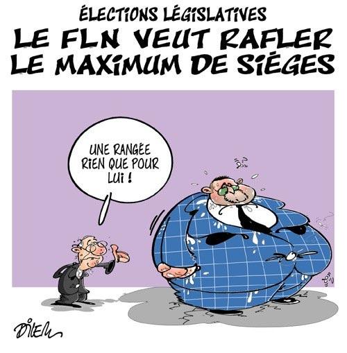 Elections législatives: Le FLN veut rafler le maximum de sièges