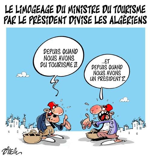 Le limogeage du ministre du tourisme par le président divise les algériens