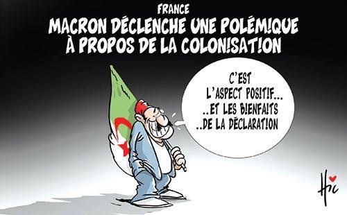 France: Macron déclenche une polémique à propos de la colonisation