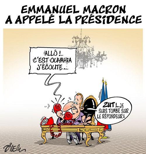 Emmanuel Macron a appelé la présidence