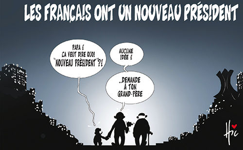 Les Français ont un nouveau président