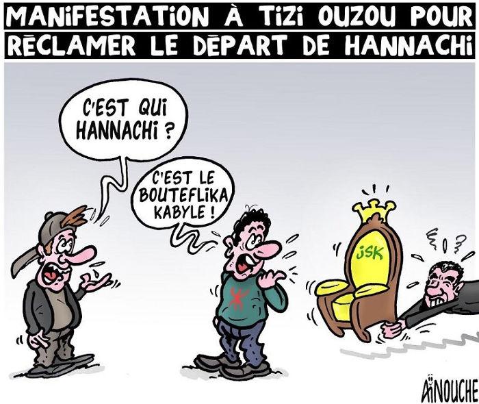 Manifestations à Tizi Ouzou pour rééclamer le départ de Hannachi