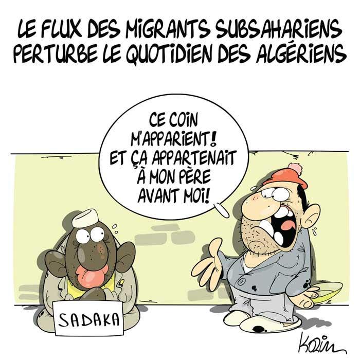Le flux des migrants subsahariens perturbe le quotidien des algériens