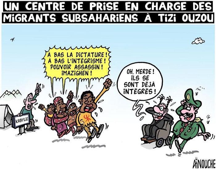 Un centre de prise en charge des migrants subsahariens à Tizi Ouzou