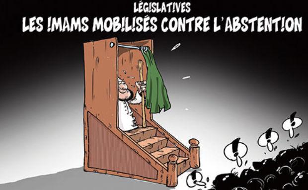 Législatives: Les imams mobilisés contre l'abstention