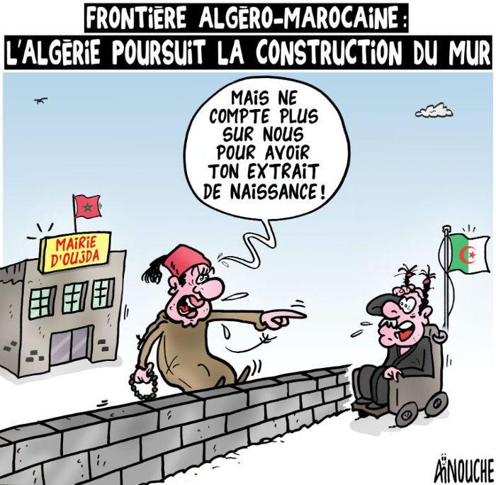 Frontière algéro-marocaine: L'Algérie poursuit la construction du mur