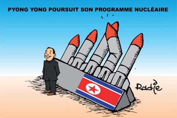 Pyong Yong poursuit son programme nucléaire