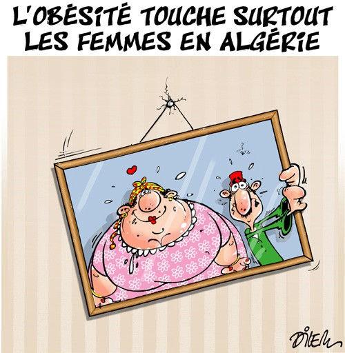 L'obésité touche surtout les femmes en Algérie