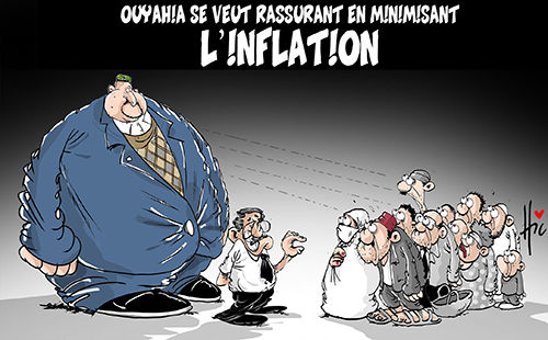 Ouyahia se veut rassurant en minimisant l'inflation