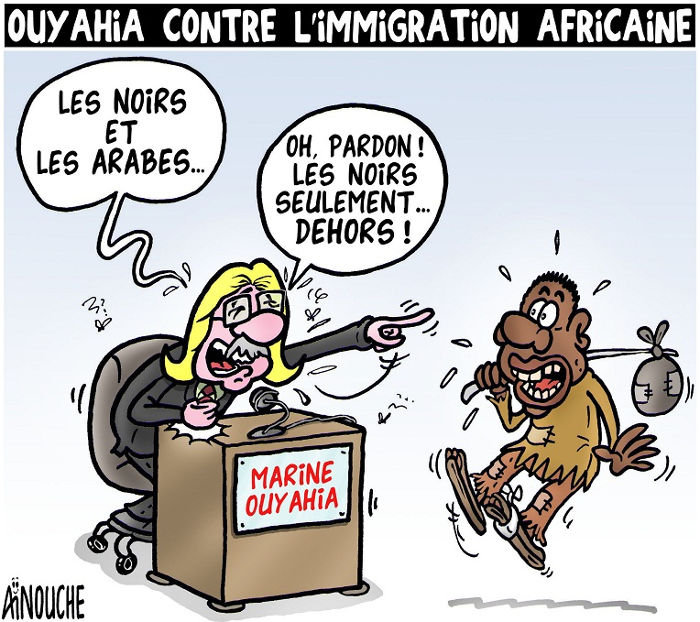 Ouyahia contre l'immigration africaine