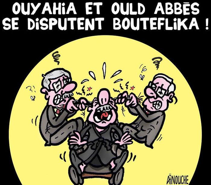 Ouyahia et Ould Abbès se disputent Bouteflika