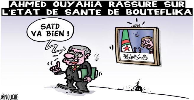 Ahmed Ouyahia rassure sur l'état de santé de Bouteflika