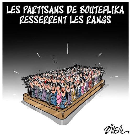 Les partisans de Bouteflika resserent les rangs