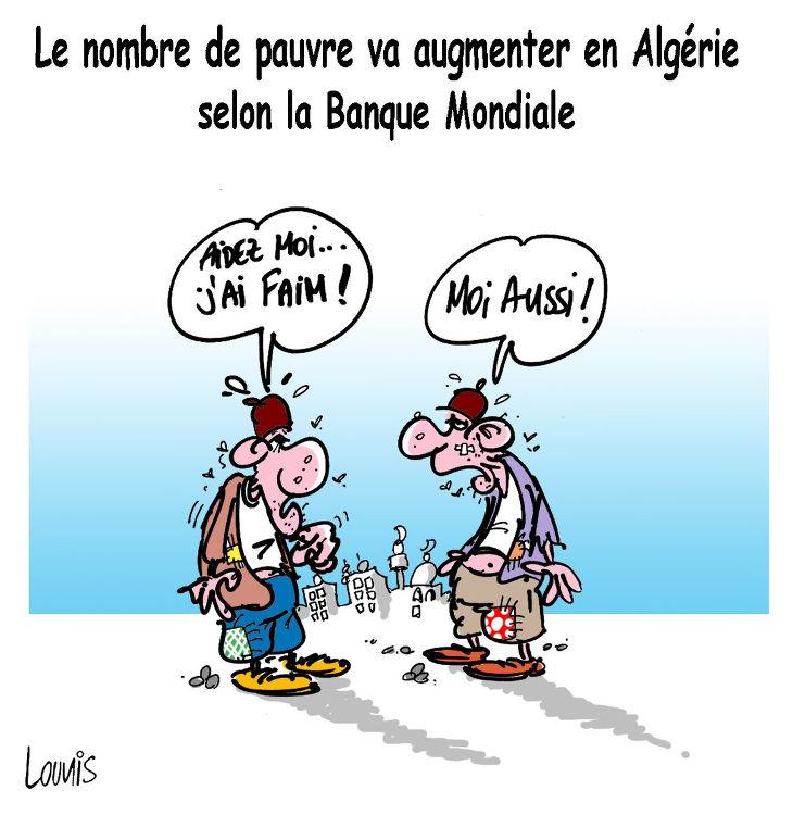 Le nombre de pauvre va augmenter en Algérie selon la banque mondiale