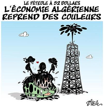 Le pétrole à 52 dollars: L'économie algérienne reprend des couleurs