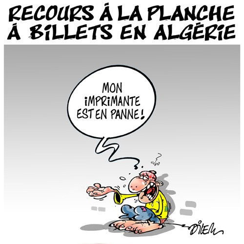 Recours à la planche à billets en Algérie