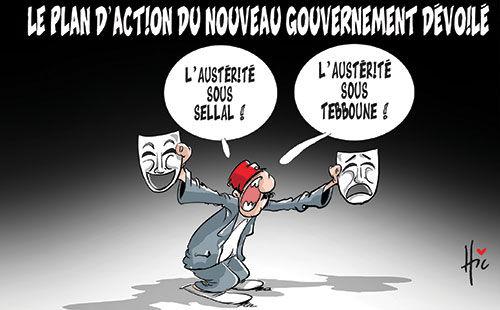 Le plan d'action du gouvernement dévoilé