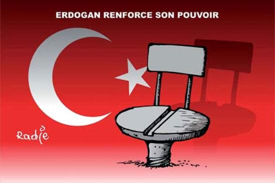 Erdogan renforce son pouvoir