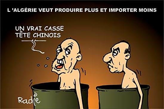 L'Algérie veut produire plus et importer moins